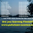 """We are currently running a funding campaign for the """"Puhutaan suomea"""" – """"Let's speak Finnish"""" magazine: English: https://www.fundedbyme.com/en/campaign/5137/puhutaan-suomea-2015/ Finnish: https://www.fundedbyme.com/fi/campaign/5137/puhutaan-suomea-2015/..."""