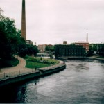 First time in Tampere, June 2000 - the temperature outside was 8 degrees C!