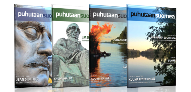 We empower you to speak Finnish! Puhutaan suomea is a PRINTED magazine for those studying the Finnish language. It offers...