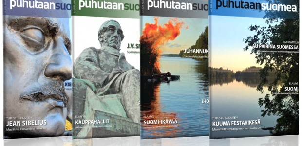 We empower you to speak Finnish! Puhutaan suomea is a magazine for those studying the Finnish language. It offers articles...